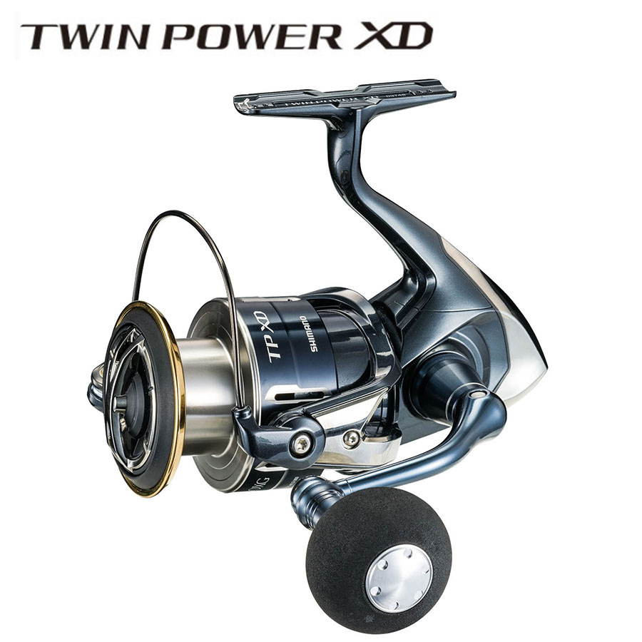 Original SHIMANO TWIN POWER XD <font><b>C3000HG</b></font> C3000XG 4000XG C5000XG Bearing 9+1BB GEAR RATIO 6.2:1 HAGANE Seawater Fishing Reel image