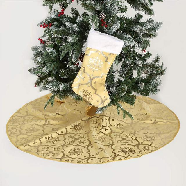 Tree Skirts Creative Christmas Decoration New Year Home Outdoor Decor Event Party Tree Skirts For New Year Carpet Decorations 5