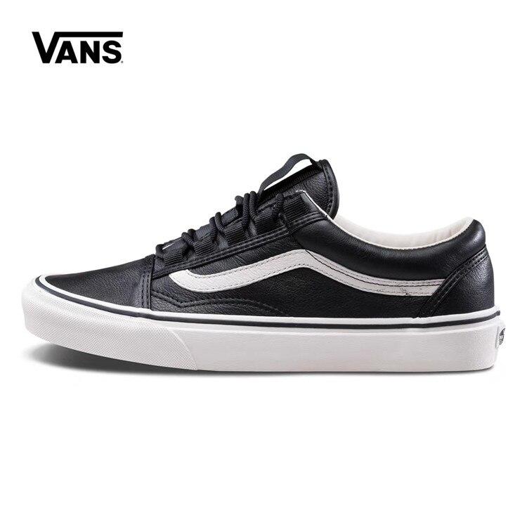 Authentic Vans Skateboarding Shoes,Canvas Shoes,Classics White/Black Colors VANS Off The Wall Men/Women Sports Shoes