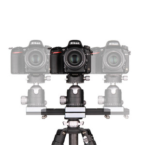 "Image 3 - Kolivar スライダー 9 ""/23 センチメートルミニ調整可能な減衰カメラトラックレールド一眼レフカメラ用スマートフォン DV 移動プロビデオ映画"