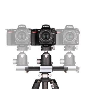 "Image 3 - Kolivar Slider 9""/23cm Mini Adjustable Damping Camera Track Rail Dolly Slider For DSLR Camera Smart Phone DV Gopro Video Movie"