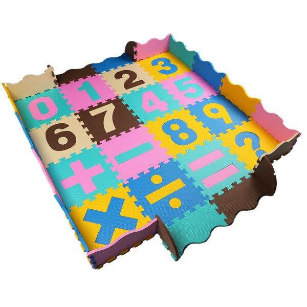 Mei qi cool tapis éducatifs Puzzle Eva mathématiques enseignement Puzzle tapis chambre anti-dérapant mousse tapis de sol P003B