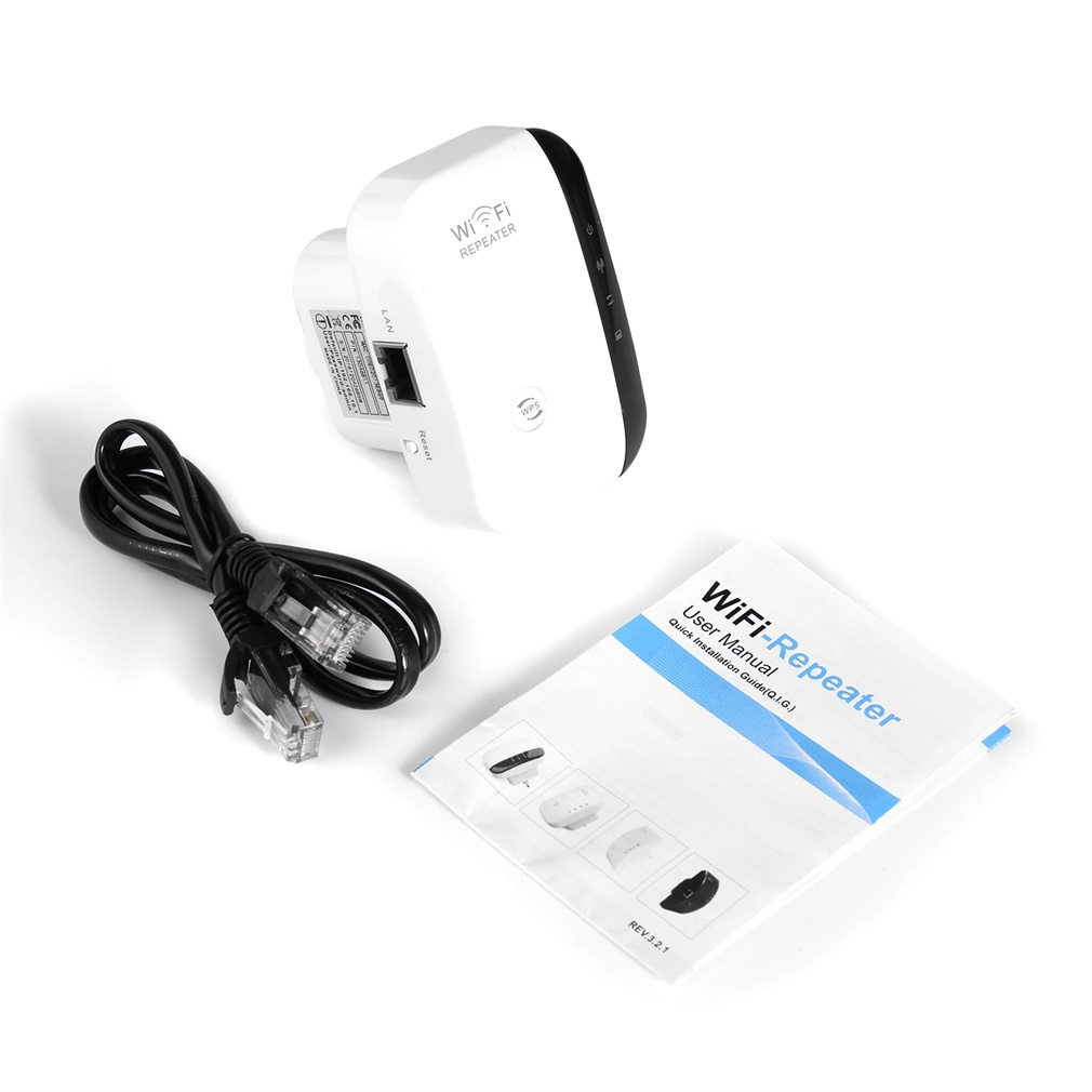 WR03 Wireless 300Mbps Repeater Network Router Roteador Wifi Signal Extender Range Expander Booster Bridge With US Plug