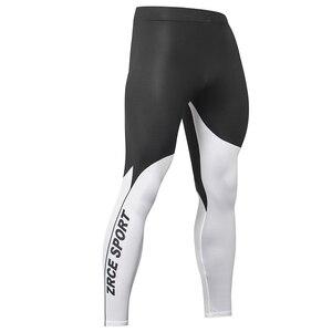 Image 3 - ZRCE זכר דחיסה הדוק חותלות קל משקל מהיר ייבוש אלסטי חדר כושר כושר ריצה מכנסיים אימון אימון יוגה Bottoms
