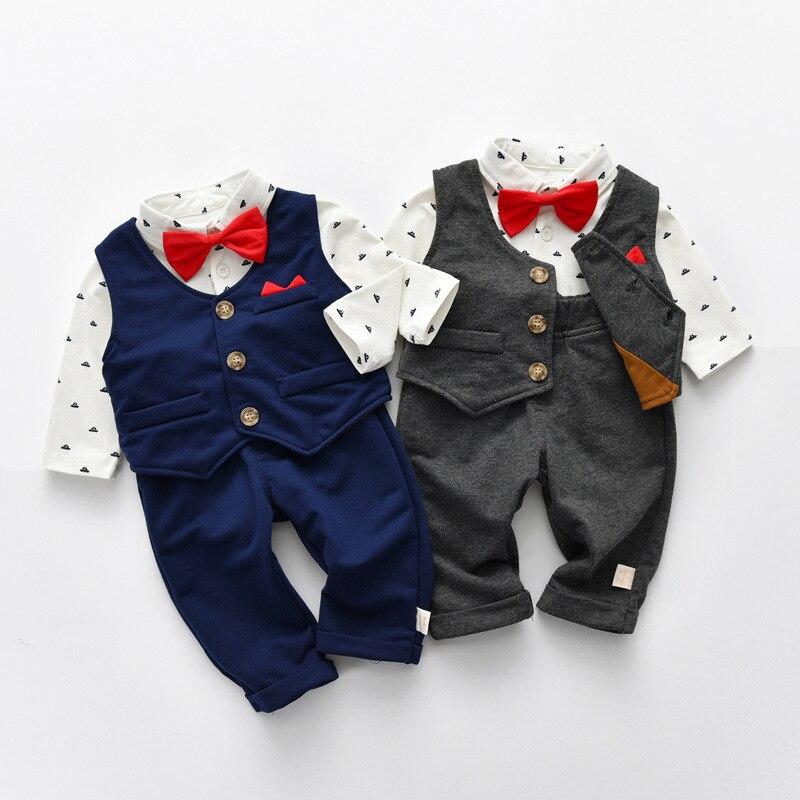 י. ג. מותג ילדים של ללבוש, 2021 אביב חדש עניבת פרפר, תינוק חליפה, תינוק מכנסיים, הבנים למעלה, אחת בת חליפה