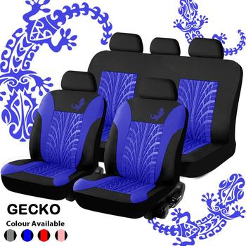 Car Seat Covers Set Universal Fit Most Cars Covers with Tire Track Detail Styling Pink Car Seat Protector Four Seasons For Seats appdee car seat covers for front back seat covers car cushion four seasons flocking cloth car styling auto accessories warm