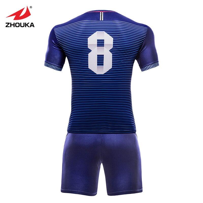 New Club Soccer Jersey Football Kits Mens Sportswear Sublimation Print Survetement Football 2018 2019 Original Team Jersey