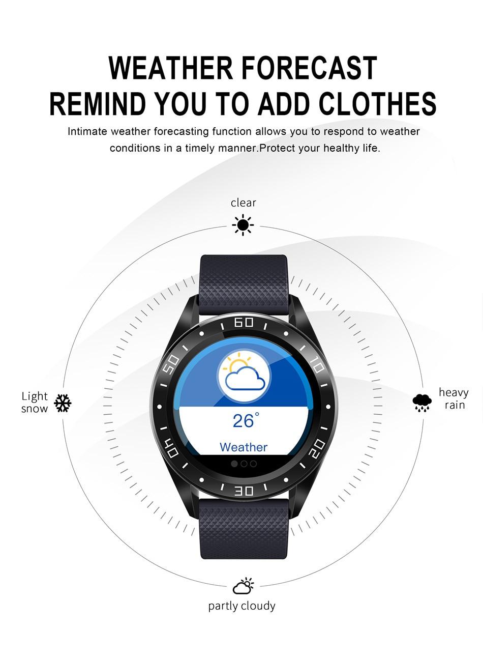 Montre intelligente hommes écran LED  Smart Watch Men
