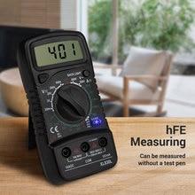 XL830l Digital Multimeter ESR Meter Testers Automotive Electrical DMM Transistor Peak Tester Capacitance 2 Test Line