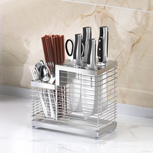 Knife-Holder Organizer Cutlery-Storage-Rack Container Shelf-Tool Stand Drainer-Tray Kitchen-Accessories