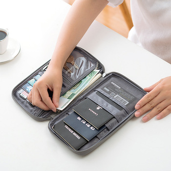 New Travel Passport Wallet Covers Holder Credit Card Package Organizer Accessories Document Cardholder Bag