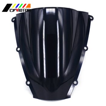 Motorcycle Black Windshield Fairing Windscreen For HONDA CBR600RR CBR 600RR F5 2003 2004 03 04 image