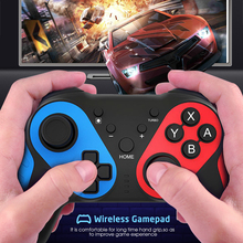 VTIN Gaming Controller Gamepad Android Wireless Joystick Joypad with OTG Converter For Smart Phone For Tablet PC TV Box wireless gamepad gaming controller for ps3 android tv box pc gpd xd with otg converter computer joystick joypad