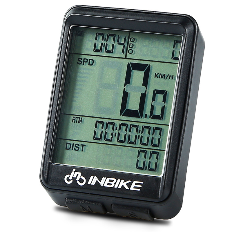 INBIKE Mountain Bike Bicycle Cycling Computer Odometer Speed Speedometer SHP
