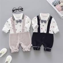 Одежда для малышей осенняя новая рубашка с длинным рукавом мальчиков