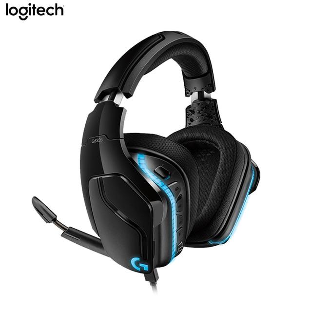 Original Logitech G633s Gaming Headphones 16.8 Million LIGHTSYNC RGB 7.1 Surround Sound Gaming Headset For PC/Mac/PS4/XBOX ONE 1
