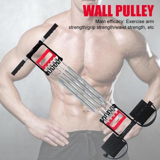 Spring Chest Developer Expander Men Fitness Tension Puller Fitness Equipment 5