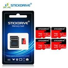 Microsd de alta velocidade da carte do cartão de memória do sd da capacidade real micro sd sdhc 128gb 64gb 32gb 16gb 8gb class10 para tabuletas do smartphone