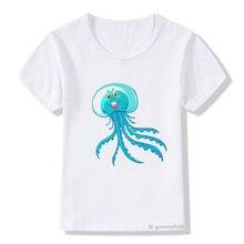Милая и забавная футболка с Медузой милые футболки мультяшным