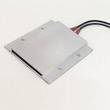 220 В 75 градусов Цельсия постоянный температурный керамический алюминиевый ОБОГРЕВАТЕЛЬ PTC нагреватель с оболочкой 77*62 мм