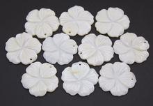 10 шт жемчужные ракушки для подвесок 26 мм