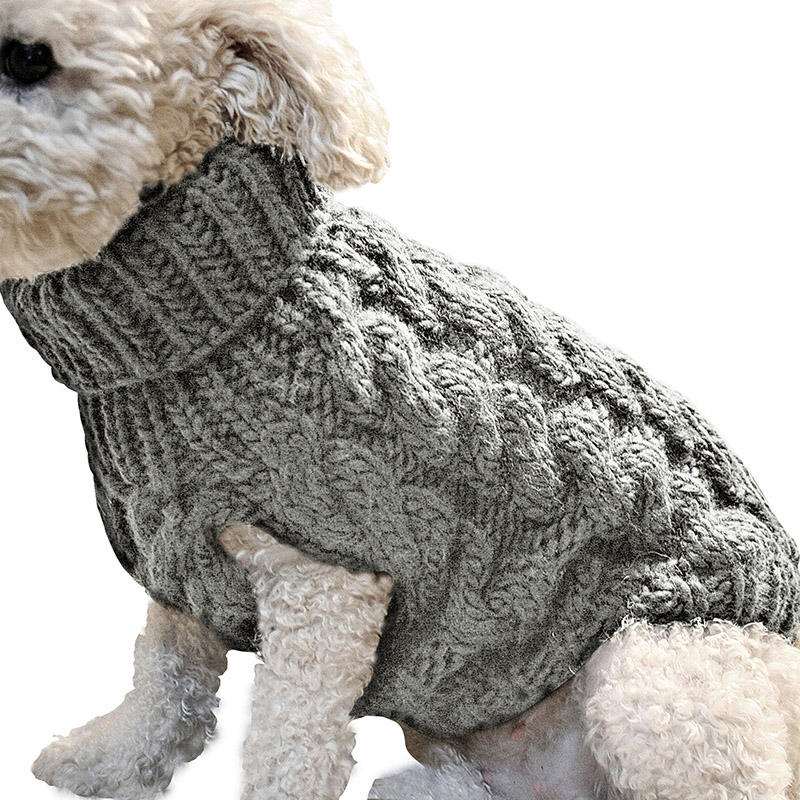 Cute Pet Supplies Knitted Jumper Sweater Winter Warm Puppy Pet Clothes dog sweater dog jumper dog pullover dog clothes