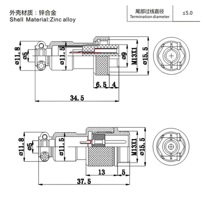 1set GX12 Butting Docking Male & Female 12mm Circular Aviation Socket Plug 2/3/4/5/6/7 Pin Wire Panel Connectors DropShipping