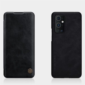 Image 3 - For OnePlus 9 Pro 9R Flip Case Nillkin Qin Leather Flip Cover Card Pocket Wallet Book Case For OnePlus9 One Plus 9 Pro Phone Bag