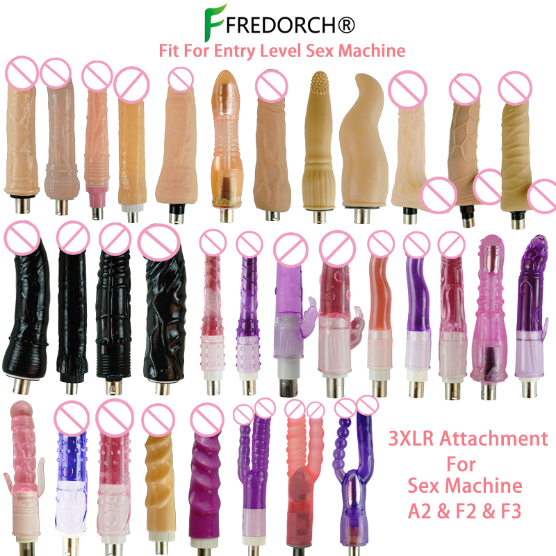 Fredorch Entry Level <font><b>Sex</b></font> <font><b>Machine</b></font> A2 / F2 /F3 <font><b>Attachment</b></font> 3XLR Accessories <font><b>Dildos</b></font> Suction Cup <font><b>Sex</b></font> Products For Women for Man image