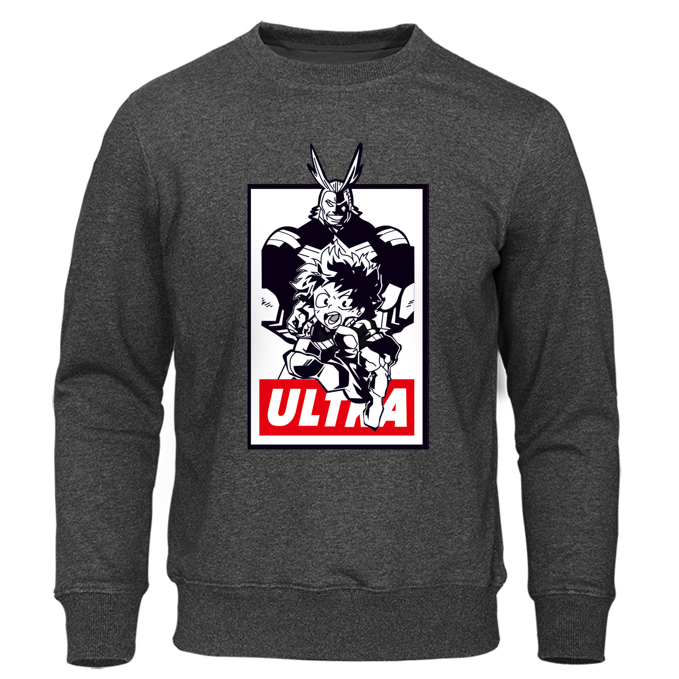 Autumn Pullover My Hero Academia All Might Midoriya Izuku Hoodies For Men Leisure Boku No Hero Anime Novelty Man Sweatshirts