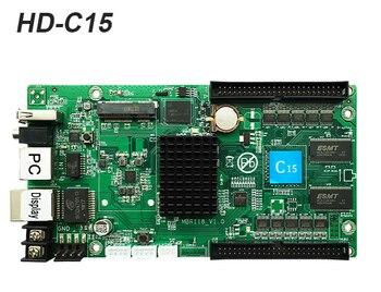 النشاط سعر huidu C15 HD-C15 التحكم غير متزامن بطاقة 4GB الذاكرة العمل مع HD-R500 HD-R501 HD-R5018 الصمام تلقي بطاقة