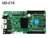 Huidu HD C15 HD C15 Asynchronous Indoor Outdoor LED Video Display Controller Can add 3G 4G Wifi Brightness Temperature
