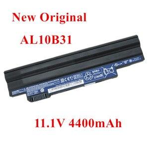 Новый оригинальный сменный литий-ионный аккумулятор для ноутбука acer 522 722 D255E D255 AL10A31 AL10B31 11,1 V 4400mAh