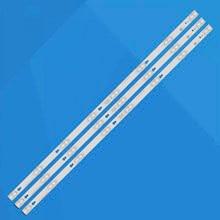 3 Pçs/set 8LED Tela Tira Retroiluminação LED Para TCL F40S5916 40FD5406 D40A810 TOT_40F3800_3X8_3030C-V1 LVF400SS0TE2V2 LED40D2710B