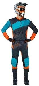 Спортивный костюм для мотокросса, набор для мотокросса, квадроцикла, внедорожника, гоночного снаряжения, брюки и трикотажный топ, комбиниро...