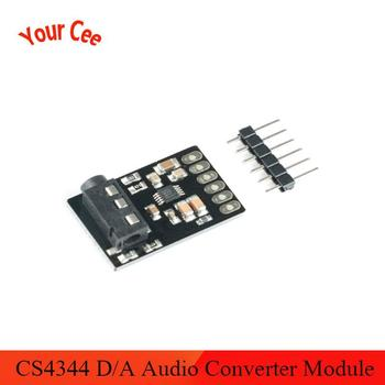 1pcs CJMCU-4344 CS4344 D//A Conversion Module Stereo Audio Converter