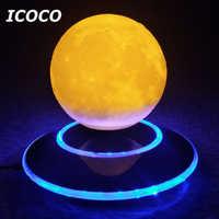 NEWKBO 15cm 3D lévitation lune lampe magnétique flottant veilleuse romantique anniversaire Festival cadeau pour la maison décoration lampe