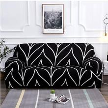 stretch slipcovers sectional elastic stretch sofa cover for living room couch cover l shape armchair cover 1 2 3 4 seater Sofa Cover For Living Room Nordic Stretch Slipcovers Sectional Elastic Stretch Couch Cover L Shape Anti-dust Armchair Cover