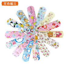 Cartoon band-aid breathable waterproof hemostatic foot heel wear girl cute children medical bandage hemostasis 100pcs