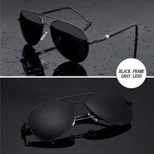 Image 3 - גברים של משקפי שמש מותג מעצב טייס מקוטב זכר משקפי שמש משקפיים gafas oculos דה סול masculino לגבר נהג משקפיים