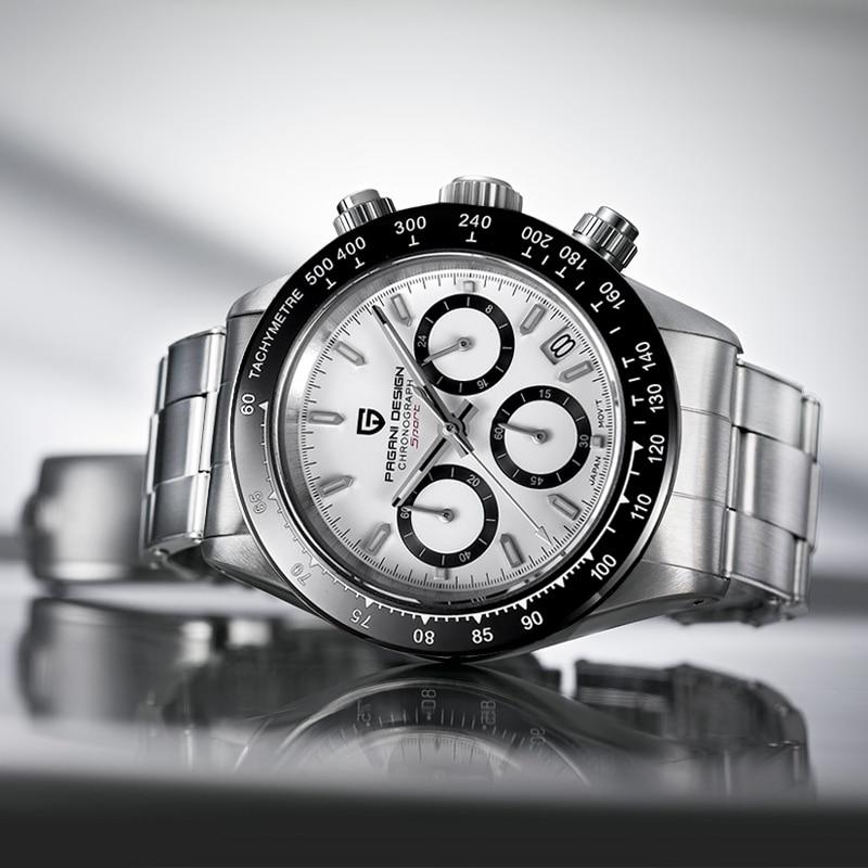 PAGANI DESIGN Men's Watches Top Brand Luxury Quartz Watch Men Sport Chronograph Automatic Date Watch Men Relogio Masculino 2020