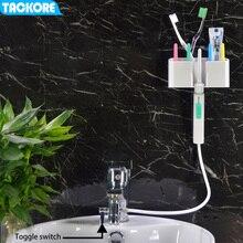 Tackore grifo irrigador bucal Flexible, agua Dental, SPA Dental, irrigador Oral, irrigador Dental con chorro de dientes