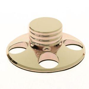 Image 2 - 오디오 LP 비닐 턴테이블 금속 디스크 안정제 레코드 플레이어 무게 클램프 HiFi New