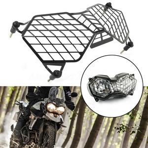Защитная решетка для мотоцикла из алюминиевого сплава, крышка для фар, крутая замена, черные аксессуары, Защитная крышка для Triumph Tiger 800