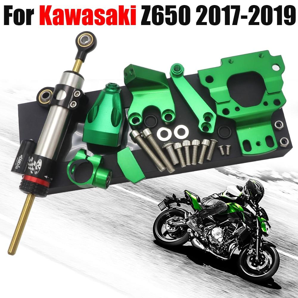 Manubrio Moto Riser Morsetto Supporto manubrio Riser per Kawasaki ER6N ER-6F ER 6F ER 6N 2012-2016 Z650 Z 650 2017 Nero