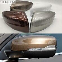 اكسسوارات السيارات Hengfei غطاء مرآة عكس مرآة الإسكان لفولفو XC60 2014 2017 مرآة الرؤية الخلفية