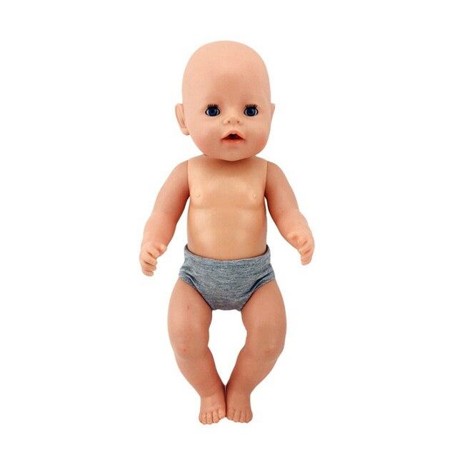 18 pouces vêtements de poupée-culotte mignonne pour mon petit bébé-18 '/43-46cm vie/génération poupée tenue-jouet accessoires Fit fille cadeau
