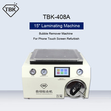 TBK-408A 15 Inch OCA LCD Laminating Machine and Bubble Remover Machine For iPhone Samsung Touch Screen Repair Refurbish 220V/110
