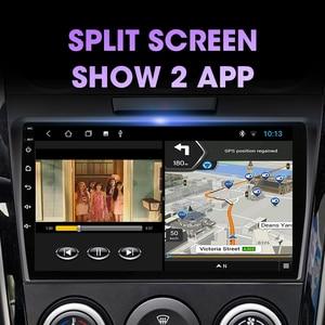 Image 3 - Jmcq Autoradio Android 10 Multimidia Video Speler Voor Mazda CX 7 Cx7 Cx 7 2008 2015 2 Din Drijvende venster Split Screen Speler