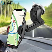 Olaf Gravity Car Phone Holder For iPhone X Samsung S10 Suction Cup Car Mount Holder For Phone in Car Mobile Phone Holder Stand